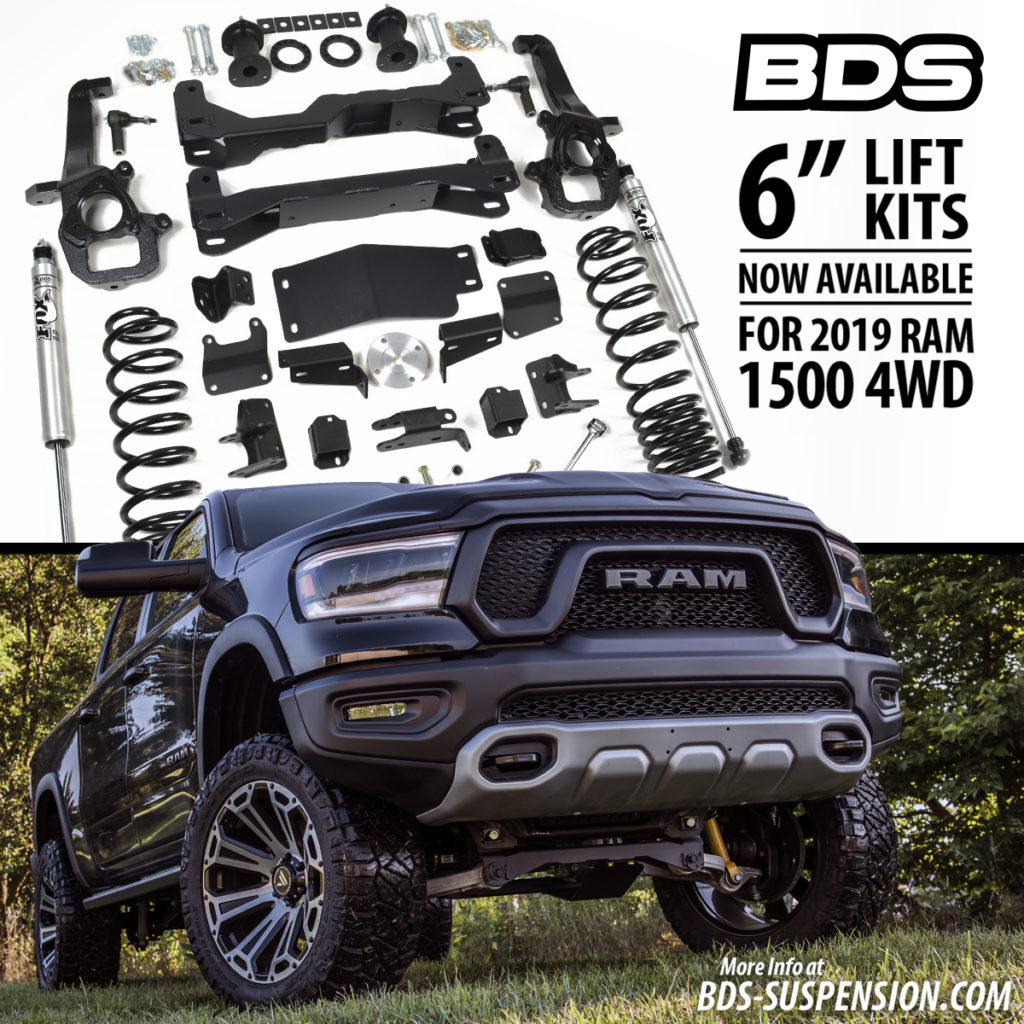 BDS Suspension Six inch Lift Graphic