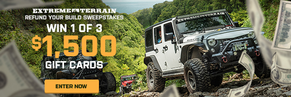Jeep Wrangler LJ win gift card