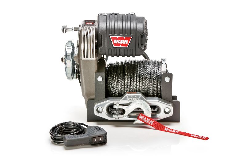 Warn Industries Iconic Winch with synthetic rope.